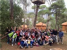 Grade 9 trip on 7/11/2015 to Bkassine