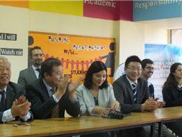 Chinese Delegation's Visit